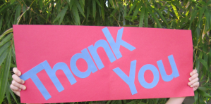 thank-you-sign2 Home Quantum Energy Generator - almost halfway there and 4 days to go!!