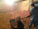 1/2 ton of sawdust needed moving
