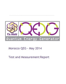 qeg-tm-report QEG Morocco Test and Measurement Report Opensourced