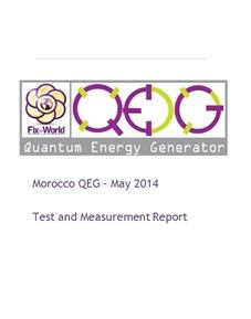 QEG T&M Report