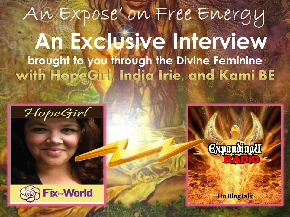 Expose Free Energy Interview brought to you through the Divine ...