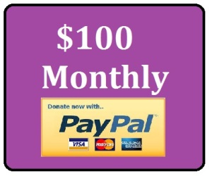 donate 100 monthly