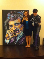 Hope Rock Demarco Tesla Painting