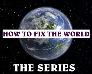 how to fix the world the series logo square