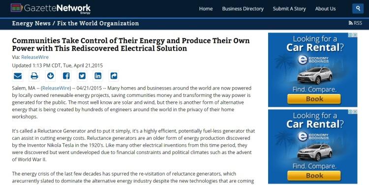 energy Gazette