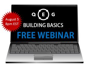 Building Basics Webinar Photo