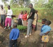 Young Kenyan Permaculture