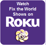 fix the world tv on roku